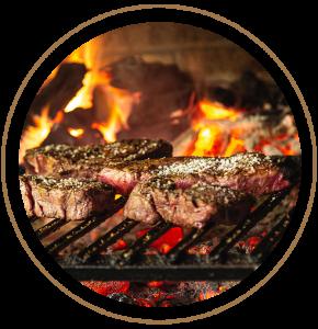 Dieses Foto zeigt leckeres Fleisch von der Fleischerei Ledder